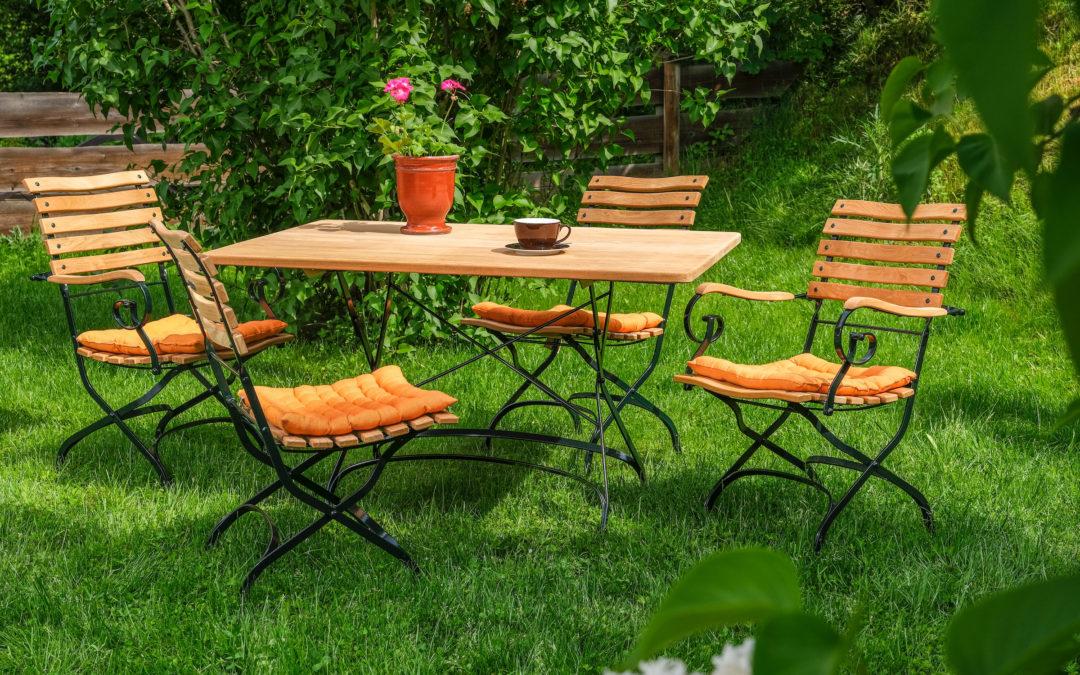 Lust auf neue Gartenmöbel? – klicken und scrollen!